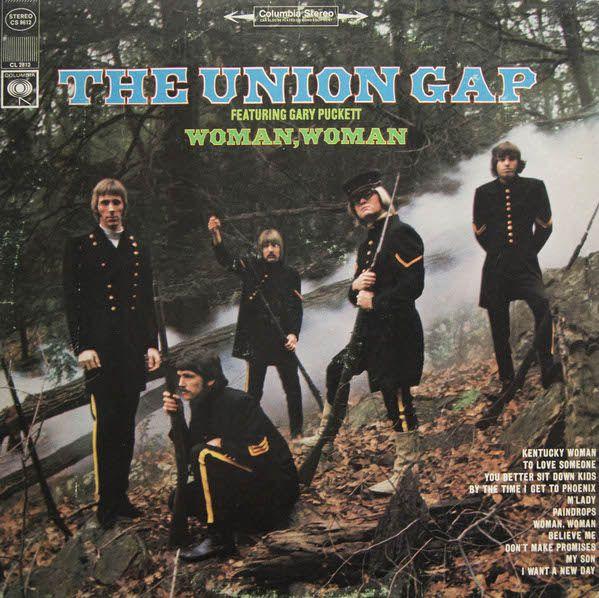 The Union Gap* Featuring Gary Puckett - Woman, Woman (Vinyl, LP, Album) at Discogs  1968