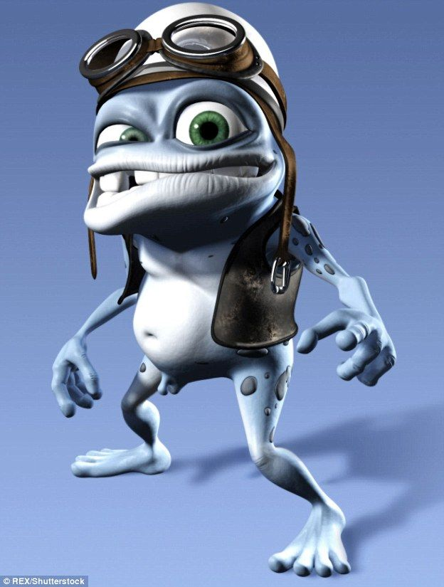 The crazy frog character used on mobile ringtones