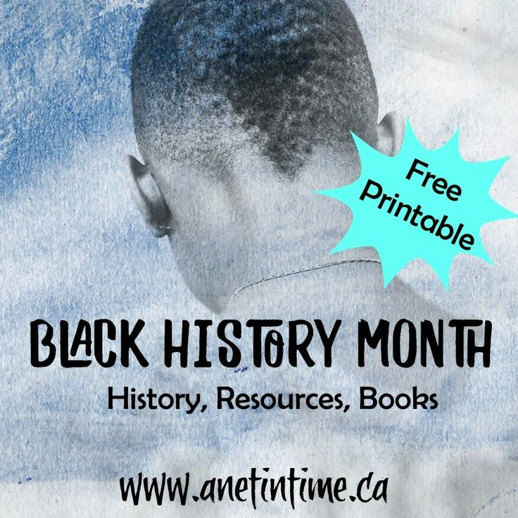 Black History Month, books, resources, and more.  Has a printable to aid in retention,.