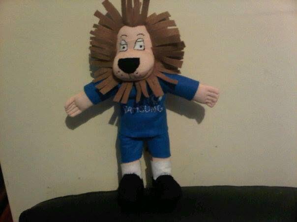 Stamford the Chelsea lion mascot