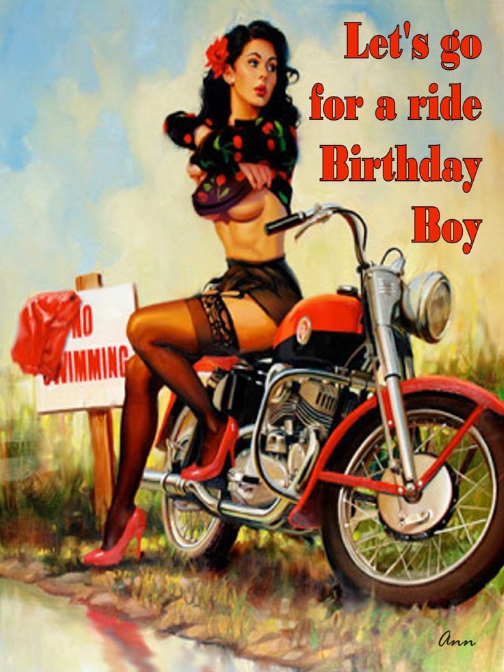 Let's go for a ride Birthday Boy | Violators MC Detroit | Pinterest