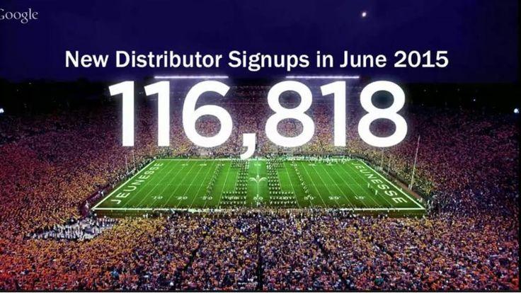 Doar in Iunie 2015 cca 117.000 oameni au spus DA pentru Jeunesse!!