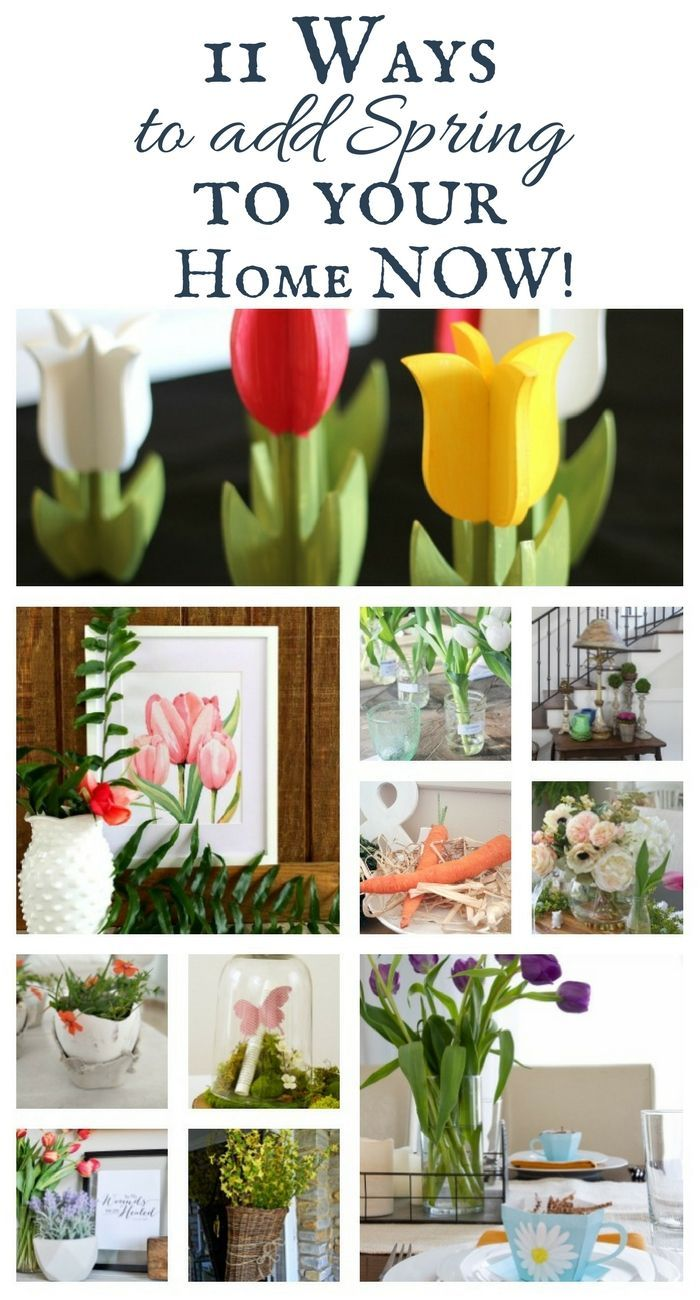 127 best Spring decor and crafts images on Pinterest | Long winter ...
