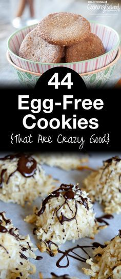 """44 Egg-Free Cookies That Are Crazy Good 