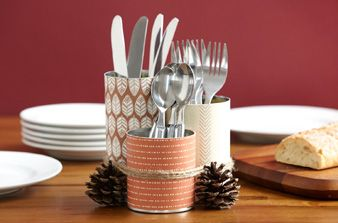 See 6 creative ways to reuse tin cans.