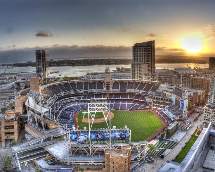 Petco Park Downtown San Diego San Diego Padres Stadium Photo By Tim Kellogg Timkelloggphotography Com Baseball Stadiums Parks Baseball Park Mlb Stadiums