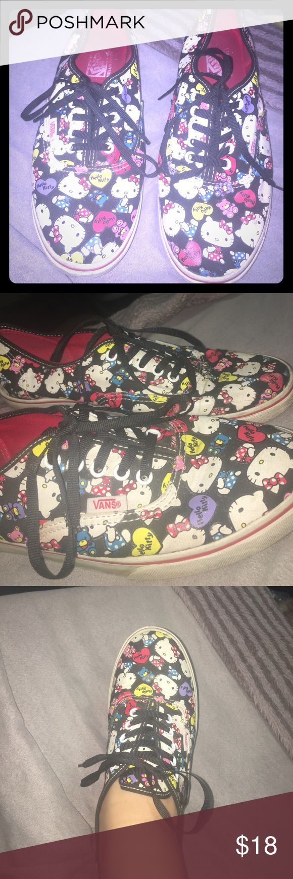 Hello kitty vans Size 9 women's hello kitty vans Vans Shoes Sneakers