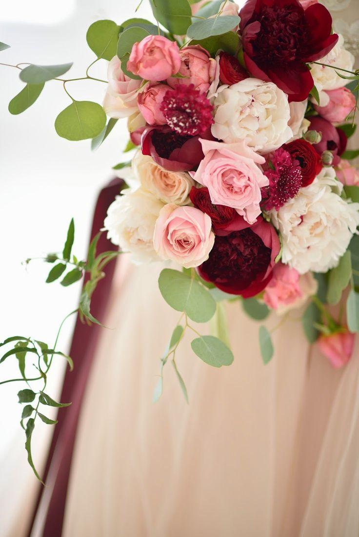 romantic bouquet featured in utah bride blog magazine
