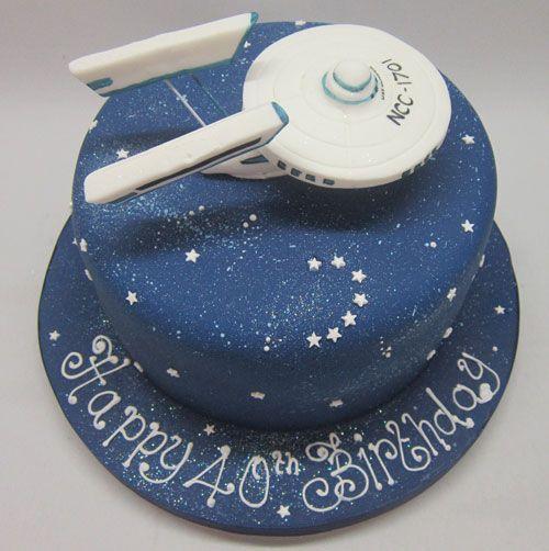 star trek cakes - Google Search                                                                                                                                                                                 More