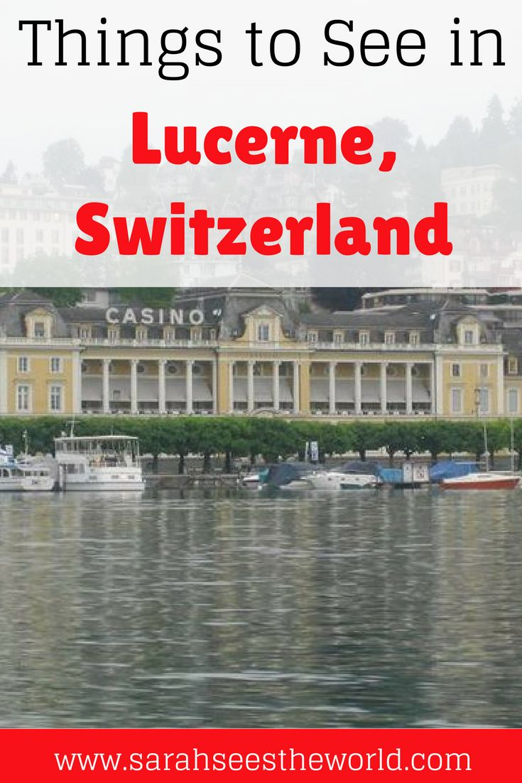 Lucerne is a beautiful town in Switzerland full of history. Here are some of our favorite things to see in Lucerne, Switzerland. Don't forget to save this to your travel board.