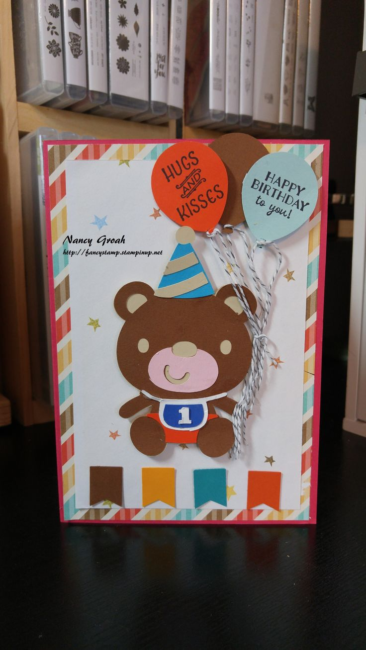 Cartas de cumplea c3 b1os colouring pages - Stampin Up Products As Well As Cricut Used To Create This Birthday