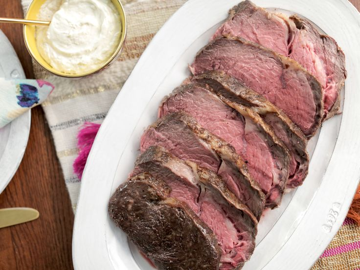 Easy Prime Rib with Fresh Horseradish Sauce