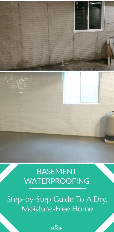 Basement Waterproofing The Comprehensive Guide 1000 In 2020 Waterproofing Basement Basement Renovations Basement Flooring Waterproof