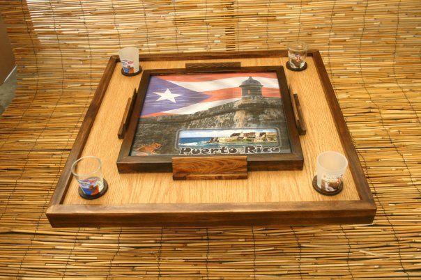 Mini Domino Table
