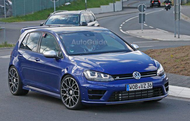 スパイショット:2016 VW ゴルフ R400 : Moter Sounds