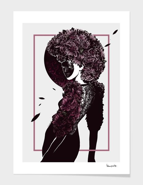 Discover «Moretta or Muta Mask», Exclusive Edition Fine Art Print by Paola Morpheus  #venice #carnival #moretta #mask #muta #pizzo #dress #women #carnevale #venezia #carnevaledivenezia #italy #viola #violet #face #coverface @paolamorpheus #paolamorpheus #illustration #graphics #interiordesign #officepictures #pictures #wallart #wallpicture #geometric #flower #petal #spring #primavera #sensation #sensual #easy #lady #orizontal #bouquet #violetroses #roses #astrogigante #california #aster…