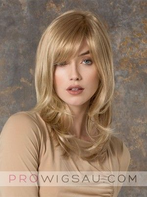 Wavy Ends Long Wig For Women Made From Human Hair