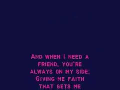 Father Daughter Dance. I Turn to You- Christina Aguilera w/ lyrics
