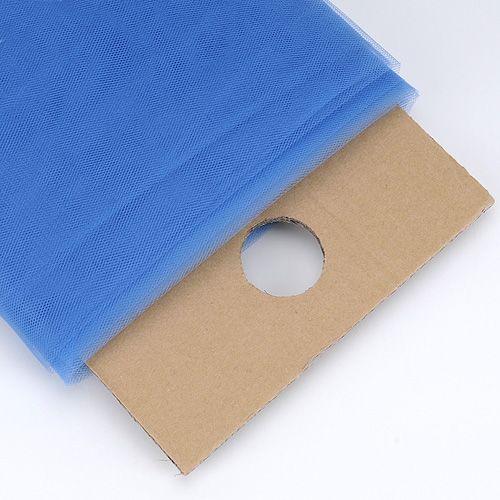Smoke Blue 54 Inch Premium Tulle Fabric Bolt ( W: 54 inch | L: 40 Yards )