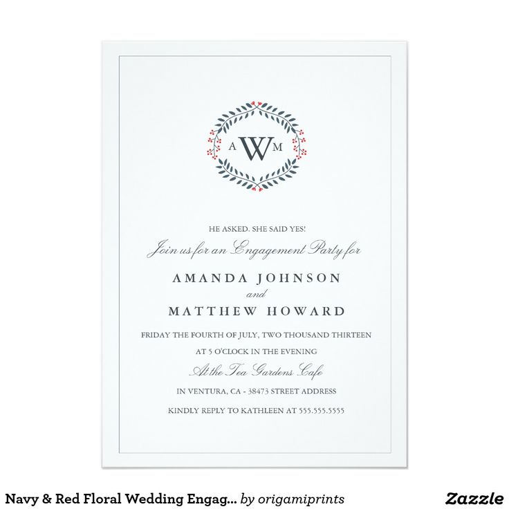 783 best Wedding Engagement Party Invitations images on Pinterest - free engagement invitation templates