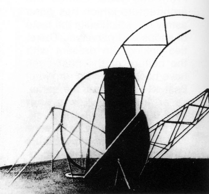 Mieczysław Szczuka, Monument to Freedom, 1922