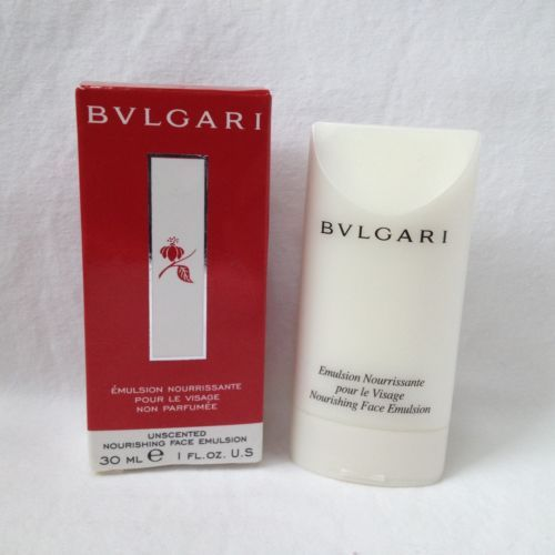 New-BVLGARI-Unscented-Nourishing-Face-Emulsion-Cream-30ml-1-oz-20C73AI1-Bulgari
