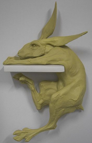 Looks exactly like the dog in the Where the Sidewalk Ends illustration. -- Beth Cavener Stichter | sculpture