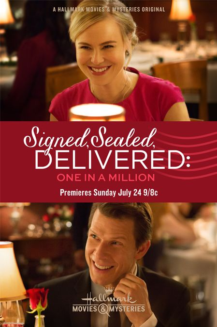 Its a Wonderful Movie - Your Guide to Family Movies on TV: The POstables return with 'Signed, Sealed, Delivered: One in a Million'
