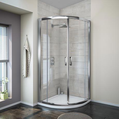Turin 8mm Quadrant Shower Enclosure (900 x 900mm)