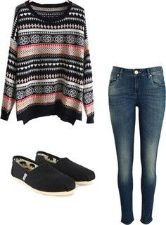 Sweaters with skinnys