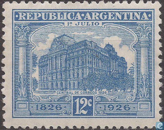 Argentina [ARG] - Main Station Building 1926