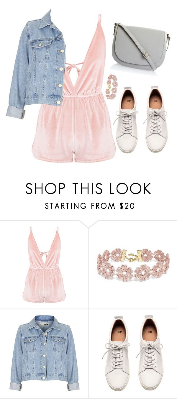 """Untitled #451"" by ksenia1ksu on Polyvore featuring BaubleBar, Topshop and H&M"