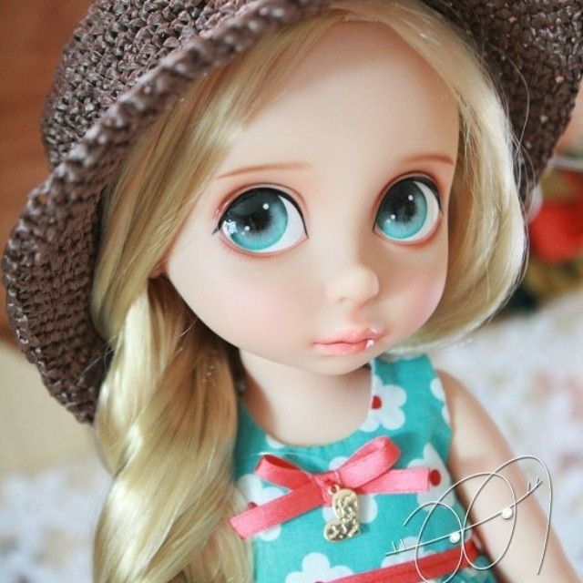 rapunzel disney animator doll by jia_n_doll
