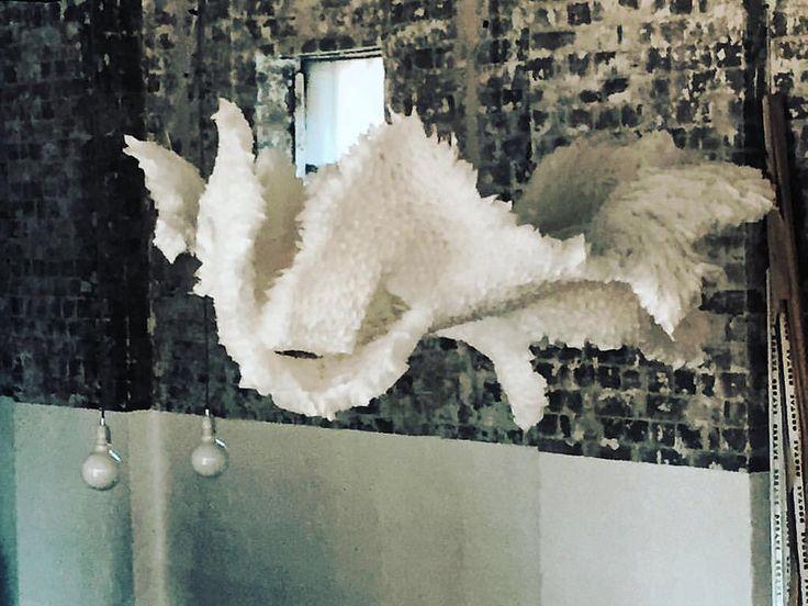 Escultura #teabags #sydney #art @rabbitholetea @corinne.smith_  gracias por la bella experiencia