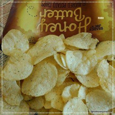 Trader Joe's Honey Butter Flavored Potato Chips $1.99 | #TraderJoes #HoneyButterPotatoChips