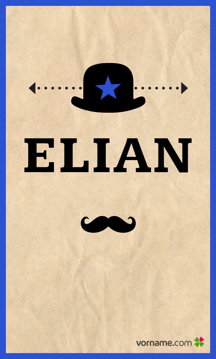 Elian ist einer von vielen seltenen Babynamen. Finde weitere Vornamen und ihre Bedeutung in unserer Liste!
