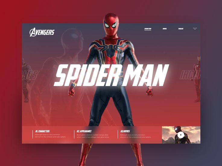 Avengers 4 Avengers, App development, Web development