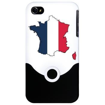 Flag Map of France iPhone 4 Slider Case