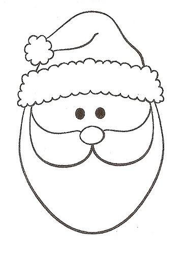 santa good for patchwork craft santa