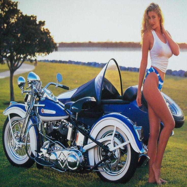 1948 Harley Davidson Panhead with sidecar   wallpaper ...