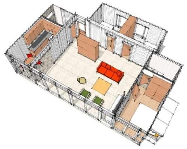 Mejores 42 im genes de casa container en pinterest casas - Casas prefabricadas contenedores ...