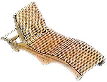 Chaise lounge chair build plans woodworking projects plans for Chaise longue plans