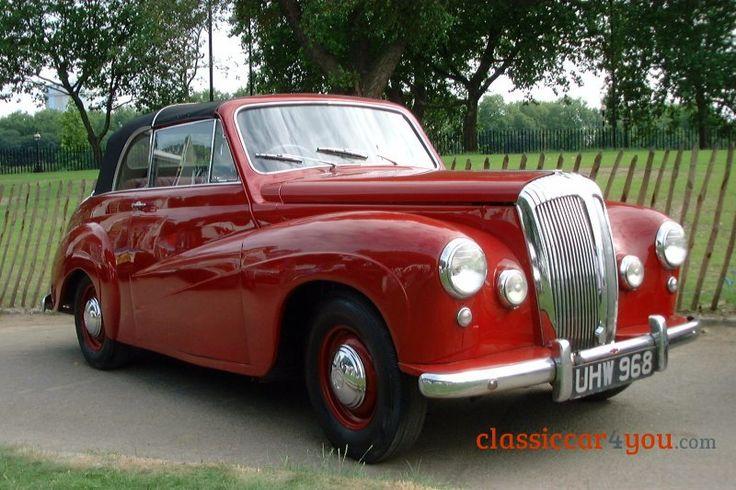 1951 Daimler Conquest drophead coupe