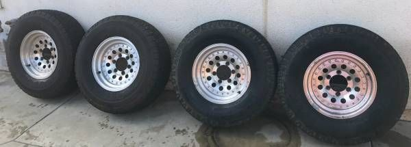 Toyota T100 4Runner Tacoma Tundra 31 X 10.5 X 15 Wheels and Tires (West Covina) $400