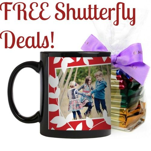 Free $15 for Shutterfly!      Deals of the Day (FREE photo deals & free fries)