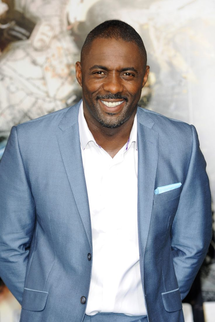 In a suit or in a hat, Idris Elba is more handsome than everyone.