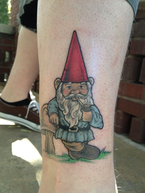 17 best images about gnome tattoos on pinterest for Garden gnome tattoo designs