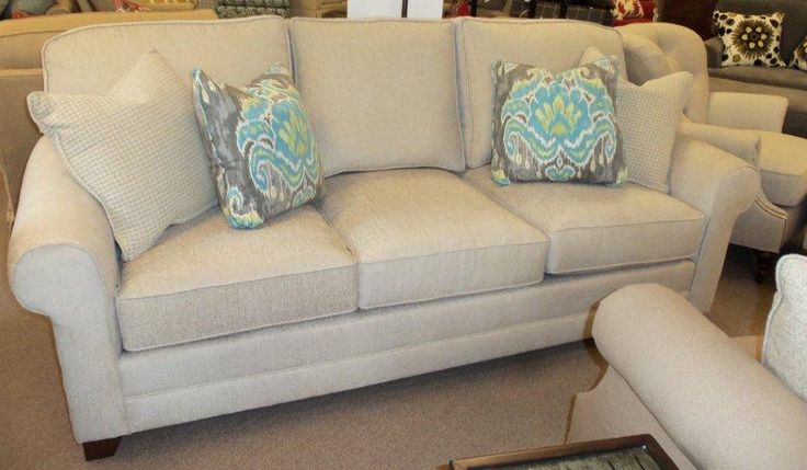 King hickory 8 way hand tied winston sofa new on the for Sofa 8 way hand tied