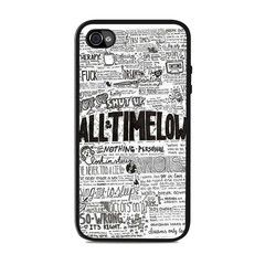 All Time Low Qoute Lyrics Iphone 4 / 4s Cases