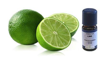 Eterisk limeolja utvinns från kallpressning av limeskalen. Inom traditionell användning anses oljan febernedsättande, bakteriedödande, virushämmande och ansedd som stärkande för immunsystemet och välbefinnandet.